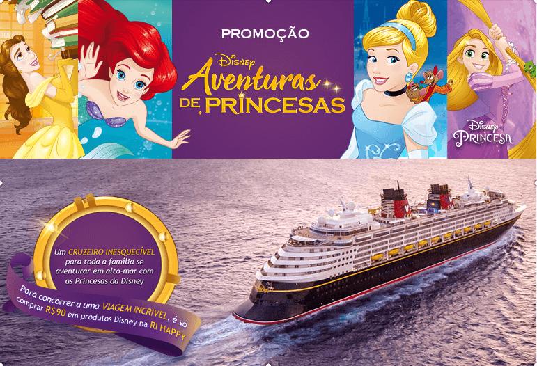 Promoção aventuras de princesas Ri Happy