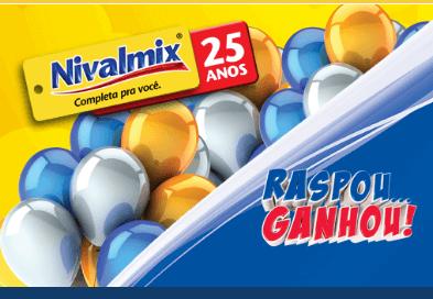 Promoção Raspou ganhou Nivalmix