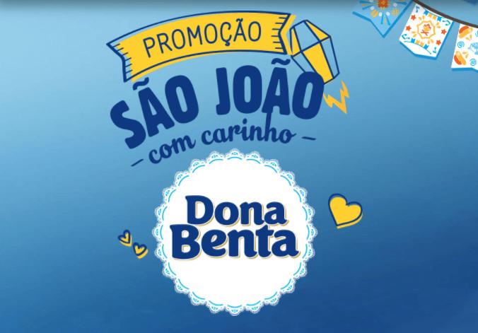 Promoção São João com carinho Dona Benta
