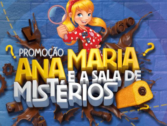 promoçãoAna Maria e a sala de mistérios