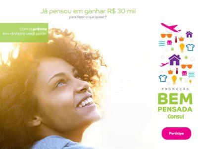 Promoção Consul Bem Pensado 2017