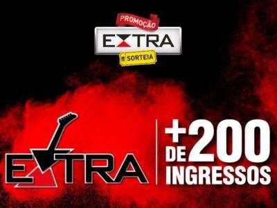 Promoção Jornal Extra 200 ingressos para o Rock in Rio
