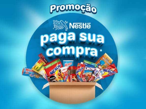 Promoção sua compra premiada Nestlé
