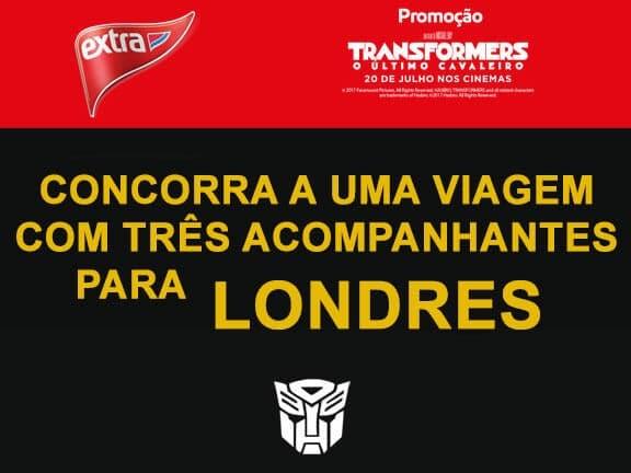 Promoção Extra Transformers