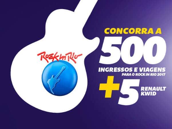 Promoção Km de Vantagens Rock in Rio