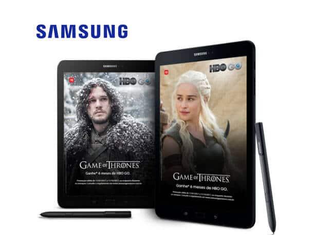 Promoção Samsung Maratona HBO Go - Assista Game Of Thrones de graça