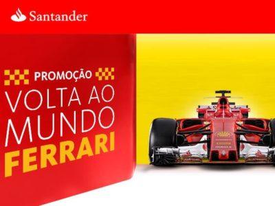 Promoção Santander volta ao Mundo Ferrari