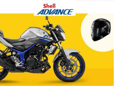 Promoção Shell Advance - concorra a uma Moto Yamaha