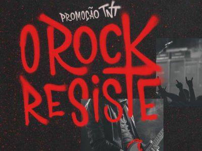 Promoção TNT O Rock resiste 2017