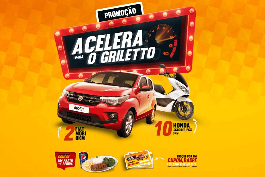 Promoção Acelera Griletto