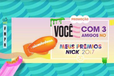 Promoção Riachuelo Nickelodeon, você e 4 amigos no Prêmios Nick