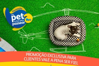 Promoção Pext seu Pet te leva para passear