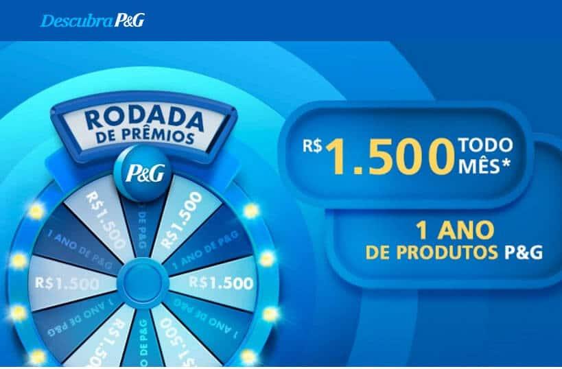 Promoção Descubra P&G Rodada de Prêmios