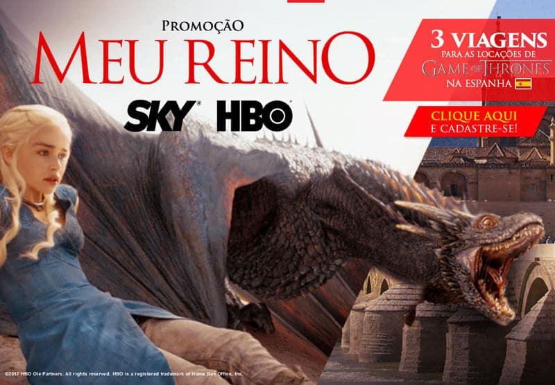 Promoção Sky HBO GOT