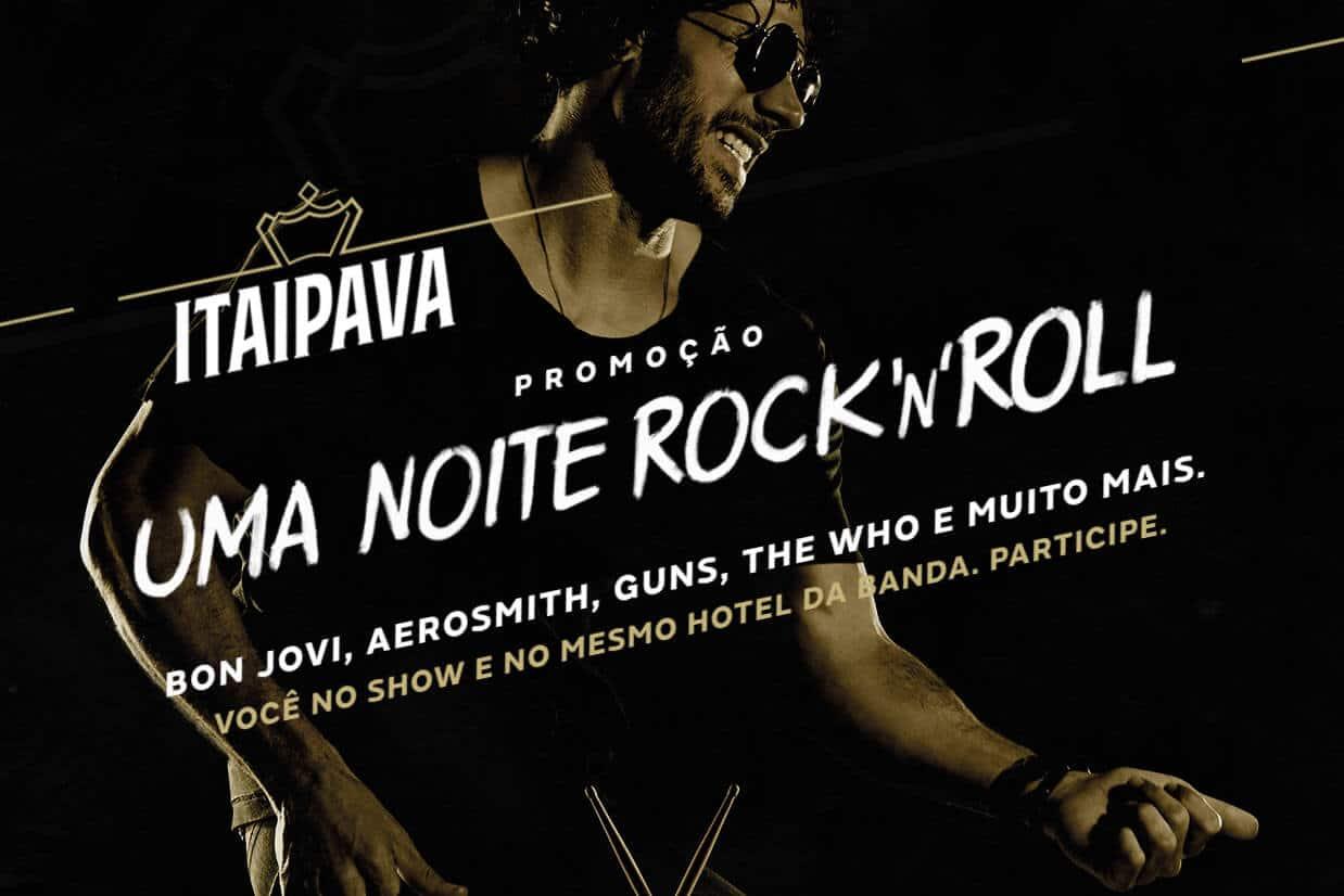 Promoção Uma Noite Rock'n'Roll Itaipava