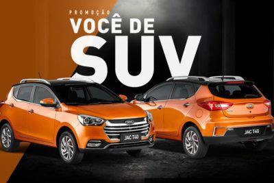 Promoção Jac Motors você de SUV