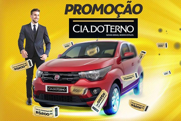 Promoção cia do Terno Carro Zero