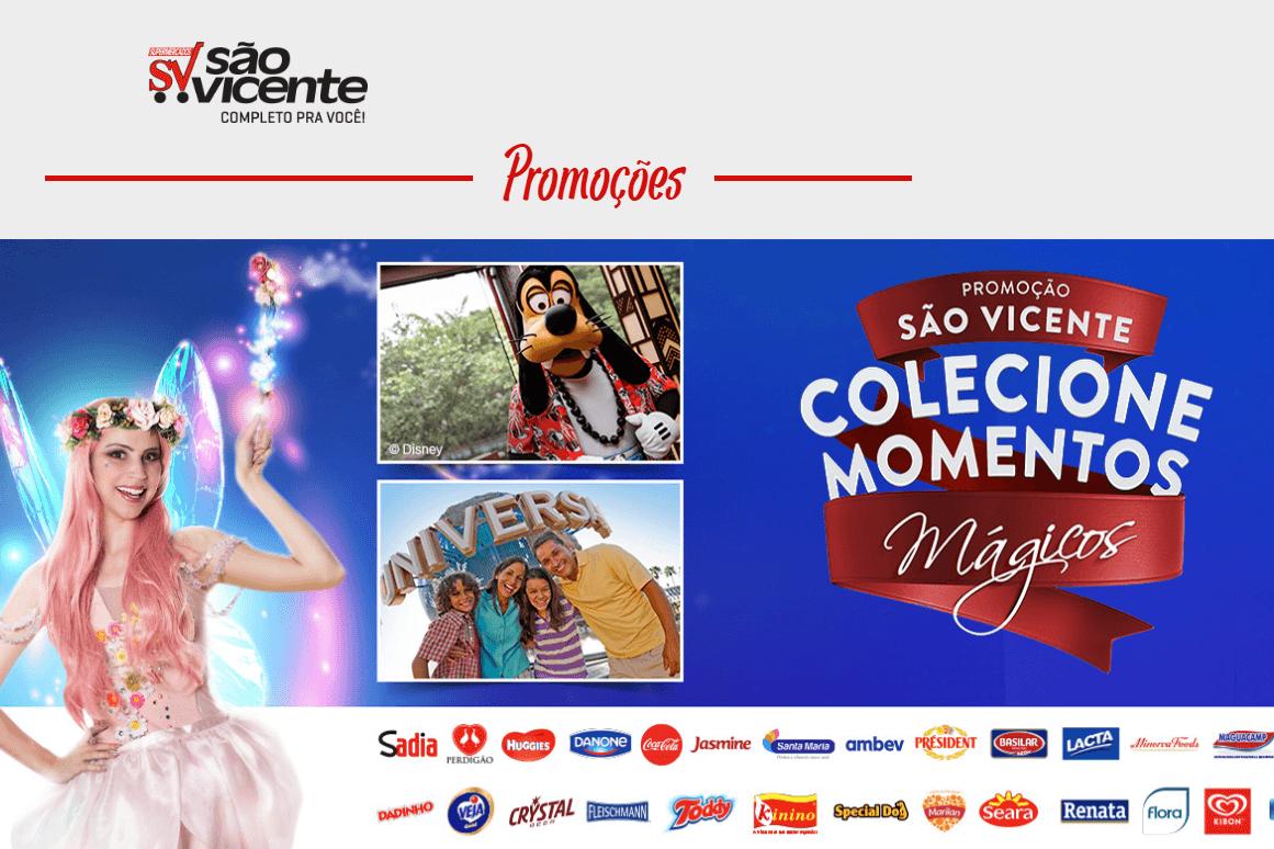 Promoção mercado São Vicente coleciona momentos mágicos