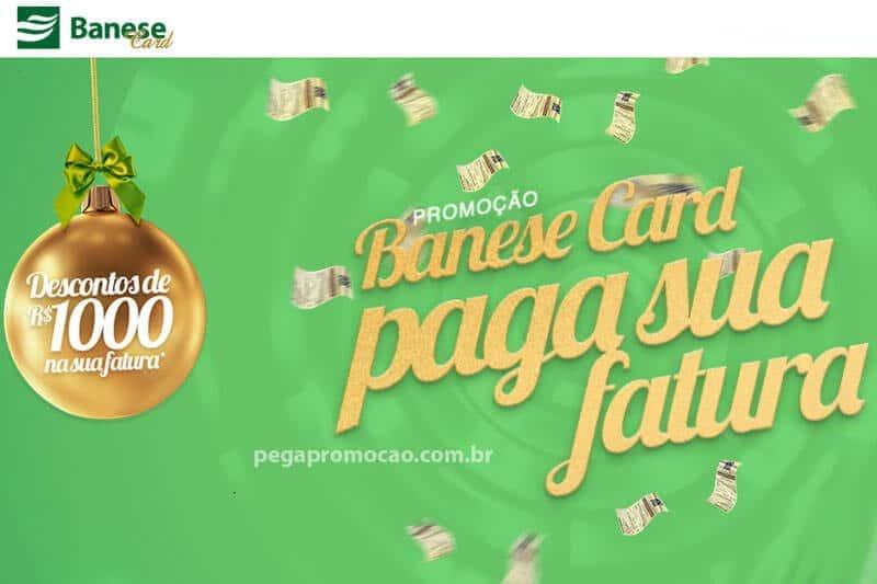 Promoção Banese Card para a sua fatura 2017 / 2018