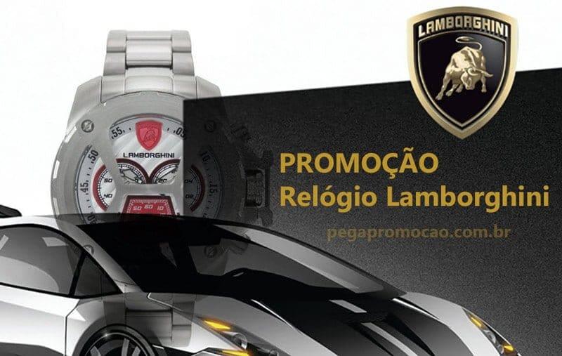 Promoção Relógio Lamborghini