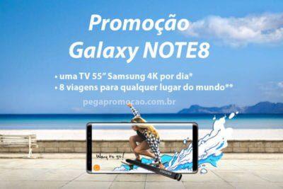 Promoção Galaxy Note 8