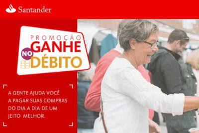 Promocao Santander Ganhe no débito