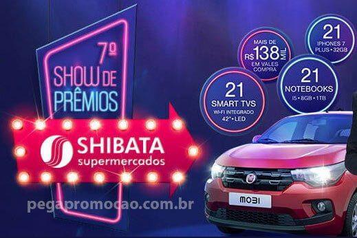 Promoção show de prêmios shibata