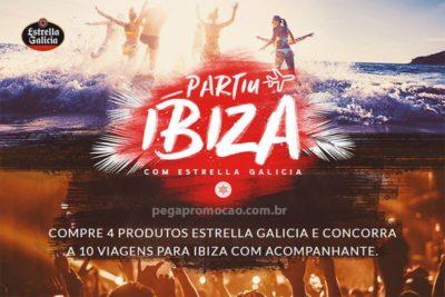 Promoção Estrella Galicia partiu Ibiza