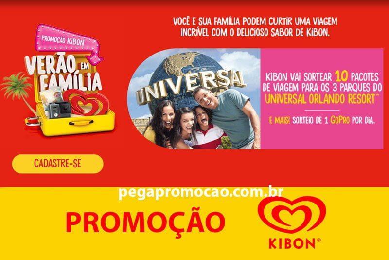 Promoção Kibon Verão em Família