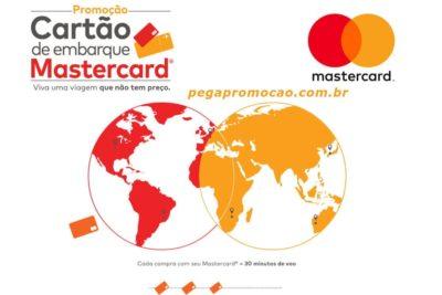 Promoção Mastercard Cartão de Embarque