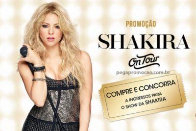 Promoção Shakira On Tour