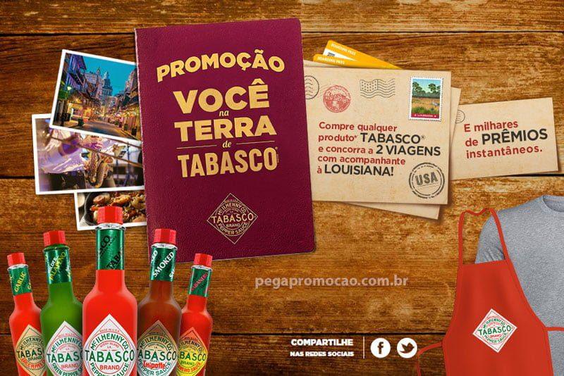 Promoção Tabasco 2017
