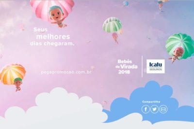 Promoção Icatu Bebês da Virada 2018