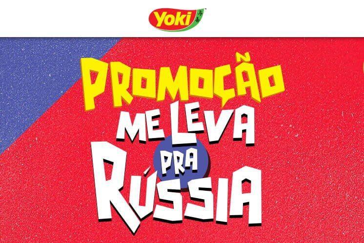 Promoção Yoki me leva pra Rússia | Concorra a viagens para a Copa 2018