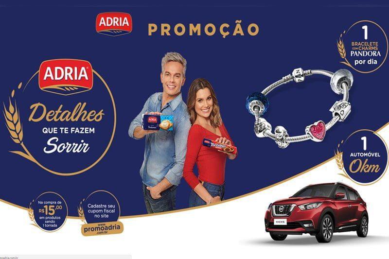 Promoção Adria 2018 Detalhes que te fazem sorrir