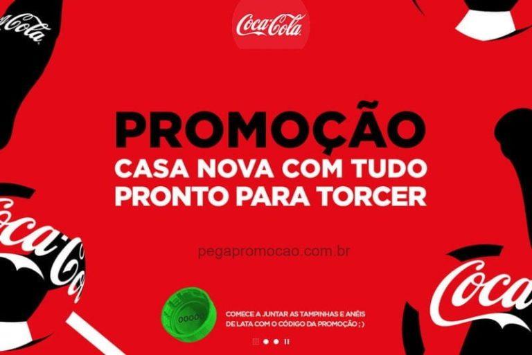 Promoção Coca Cola 2018 Casa Nova com tudo pronto pra torcer (10 casas)