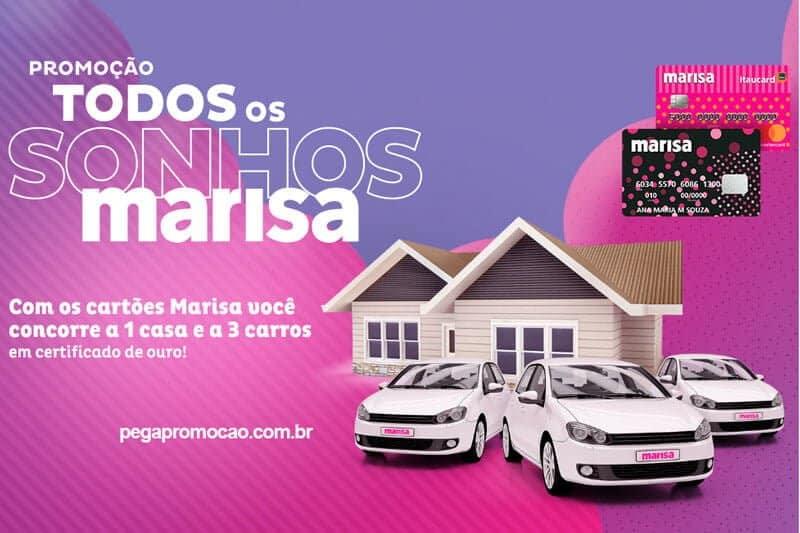 Promoção Todos os Sonhos Marisa 20