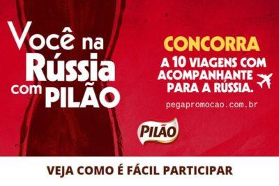 Promoção Você na Rússia Pilão