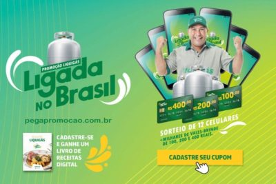 Promocao Liquigás 2018 Ligada no Brasi