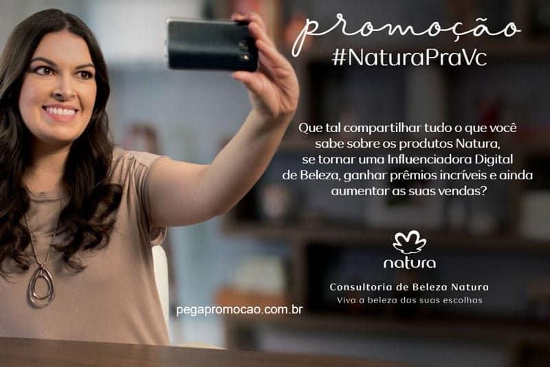 Promoção #NaturaPraVc - Veja como ganhar Kits e produtos Natura