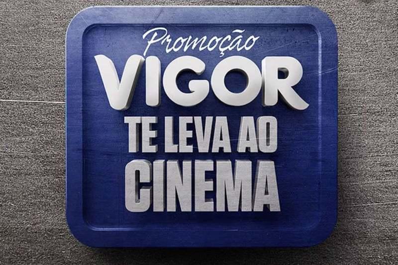 Promoção Vigor te leva ao cinema 2018