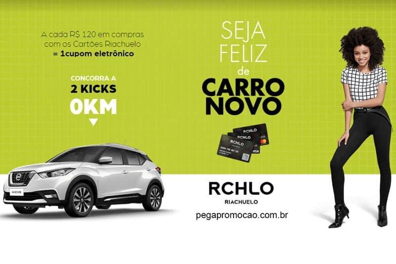 Promoção Riachuelo 2018 - Compre no cartão e concorra a 2 carros 0km
