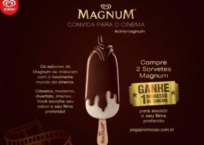 Promoção cinemagnum kibon ingresso.com