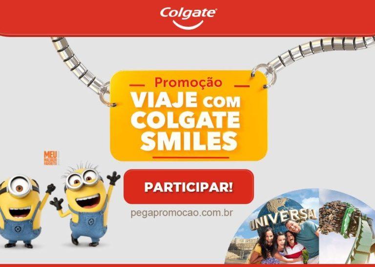 Promoção Viaje com Colgate Smiles