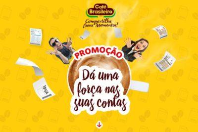 Promoção Café Brasil 2018 - Um ano de contas pagas