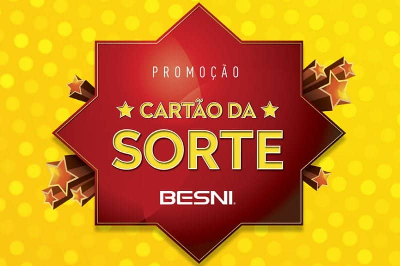 Promoção Besni 2018 Cartão da Sorte