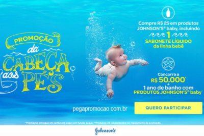 Promoção Johnsons Baby da Cabeça aos Pés 2018