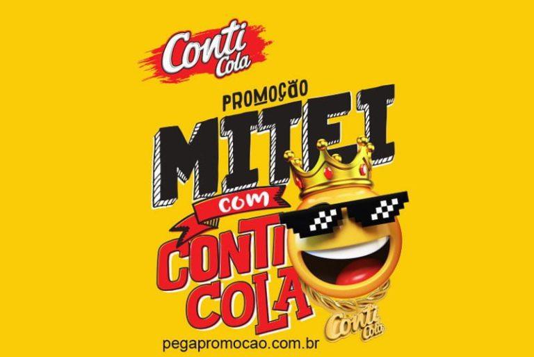Promoção Mitei com Conti Cola 2018