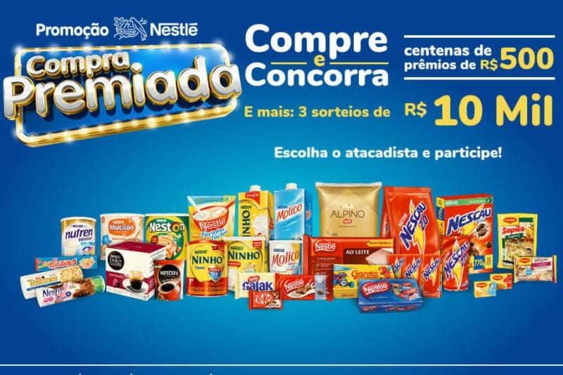 Promoção compra premiada Nestlé