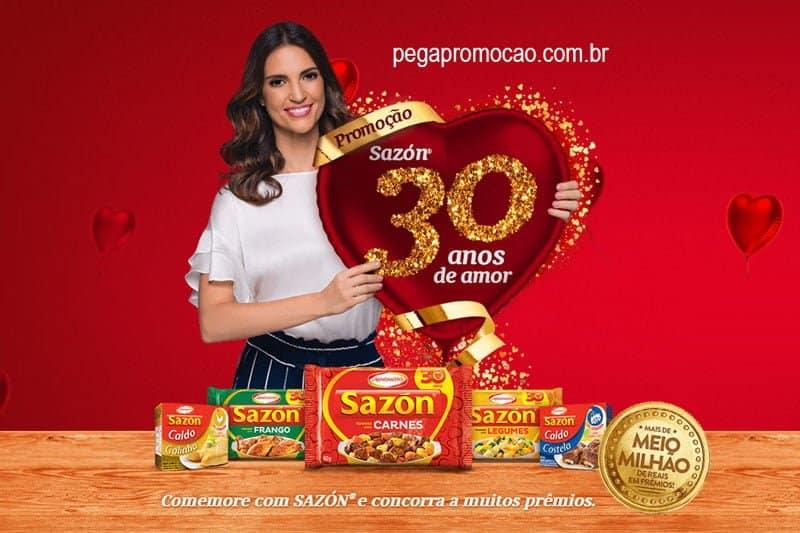 Promoção Sazon 30 anos de Amor